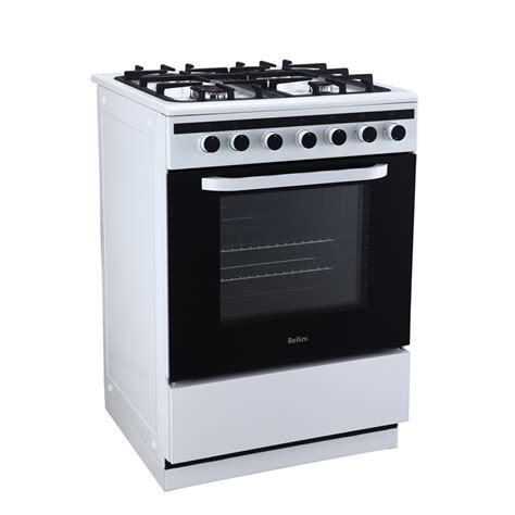 bellini cooktop bellini 60cm freestanding gas cooktop and electric oven