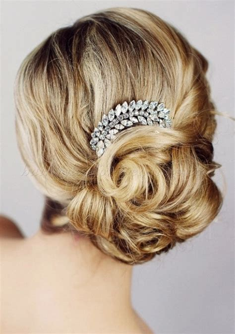Wedding Hairstyles Side Chignon by Low Bun Wedding Hairstyles Side Chignon For Weddings