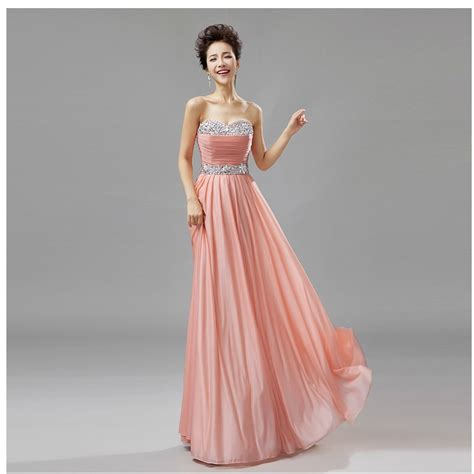 apricot color dress belt apricot pink wedding dress fashion 2015 new