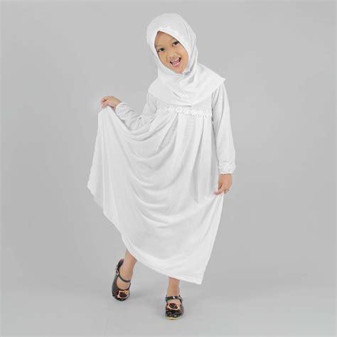 Baju Muslim Gamis Anak Perempuan Ungu Magenta busana muslim anak perempuan cantik dan manis 2017