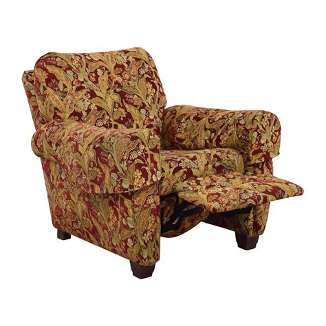 floral recliner 80 off lazy boy lazy boy burgundy floral recliner chairs