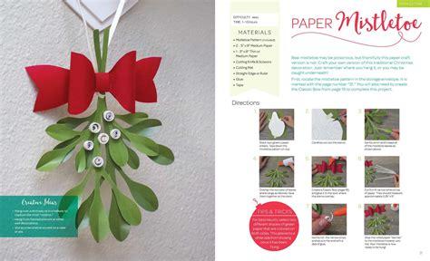 Paper Crafts Book - paper crafts book by larimer craft design