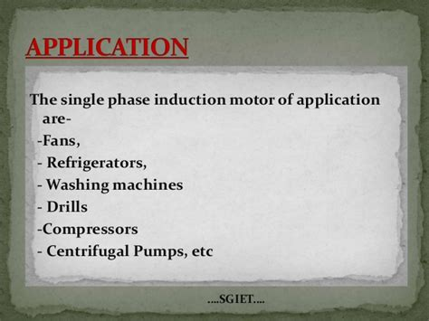 application of induction motor image gallery induction motor applications