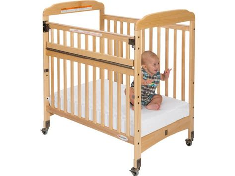 Daycare Baby Cribs Serenity Safereach Compact Crib Clearview W Mattress Fnd 300sr Daycare Cribs