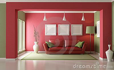 red and green living room red and green living room stock photos image 21823173
