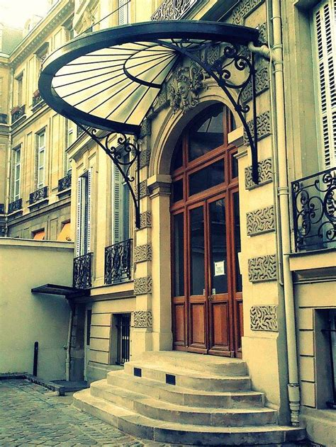 glass awnings for doors la marquise accessoire intemporel