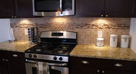 kitchen backsplash accent tile stripe kitchen
