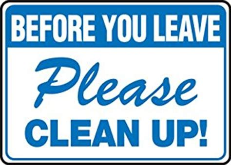 how to clean up your conference content the omnipress blog amazon com before you leave please clean up 10x14 060