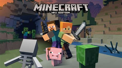minecraft wii u edition update available with new content and features