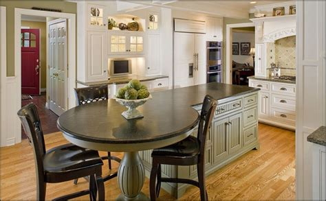 kitchen island with table end kitchen ideas and