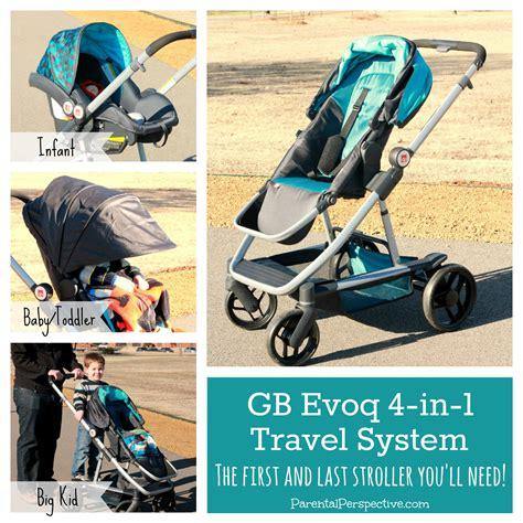 Gb Stoller Travel System image gallery evoq stroller