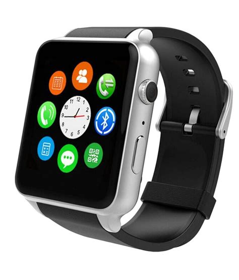 Smartwatch Gv08s Jam Tangan Pintar Digital Ios Apple Android Sony High incell apple iphone 6 smart watches black wearable
