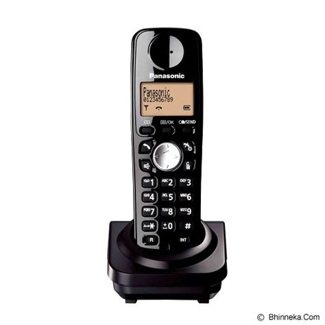 Murah Panasonic Cordless Phone Kx Tgc212 Jual Panasonic Cordless Phone Kx Twa51 Black Murah