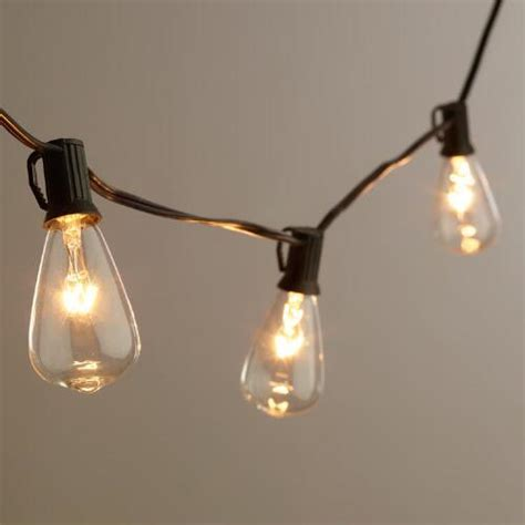 Edison Outdoor String Lights Outdoor Lights Edison