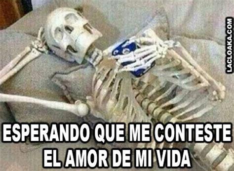 imagenes de esperando un hola los mejores memes que demuestran que un esqueleto jam 225 s