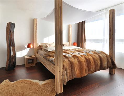 wood canopy beds 18 wooden bedroom designs to envy updated
