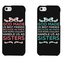 Amazon com cute bff phone cases god made us best friends phone