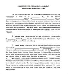Sales Agreement Template Word by Sales Agreement Template 10 Free Word Pdf Document