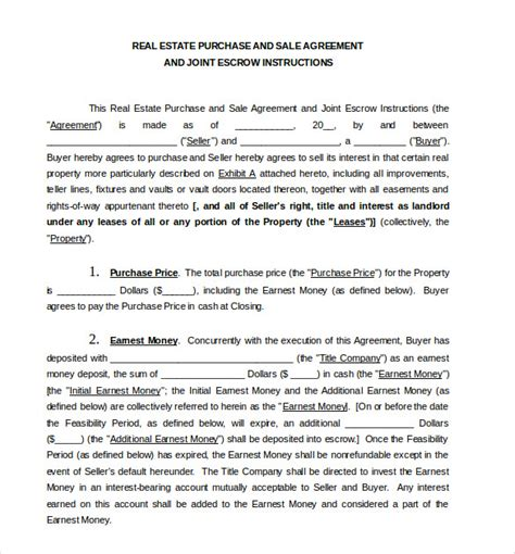 sale and purchase agreement template sales agreement template 10 free word pdf document