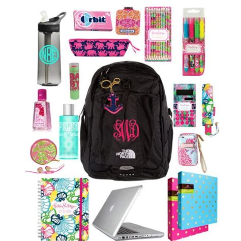 what s in my book bag except probably walmart brand