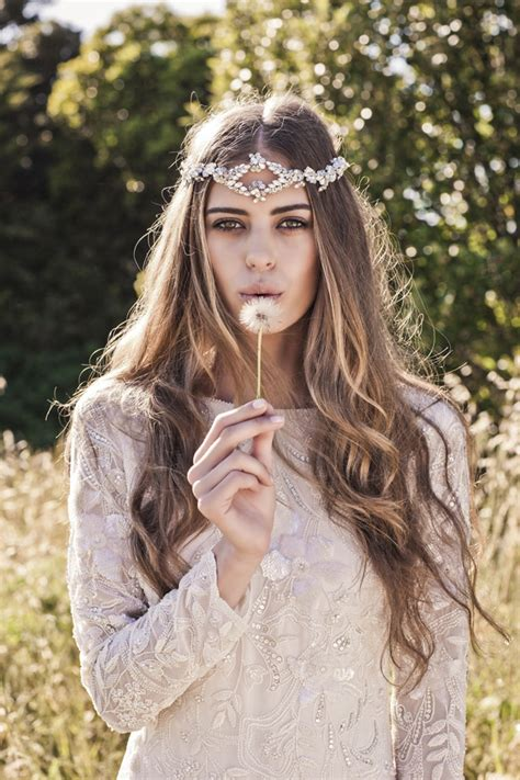 bo style hairstyles boho bridal hair accessories from bo luca southbound bride