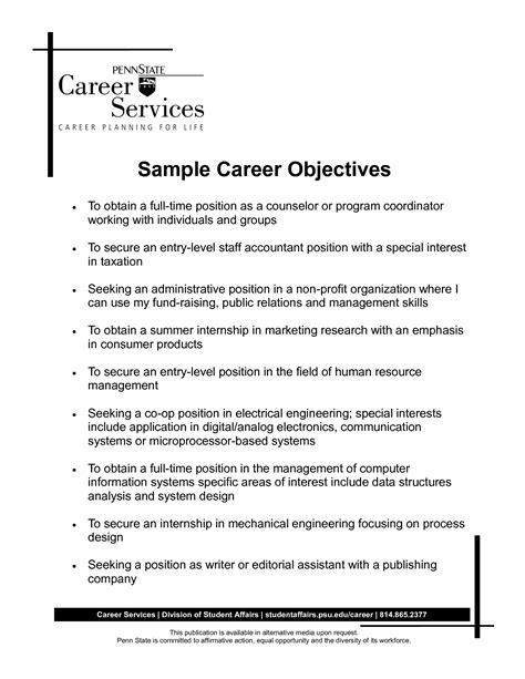 opening statement for resume opening statement resume resume opening