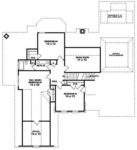 brick home floor plans monsour traditional brick home plan 087d 1080 house
