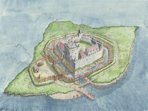 Old Floor Plans by Lochleven Castle Amp Mary Queen Of Scots