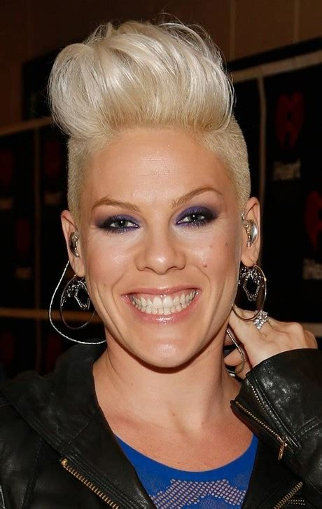 picturs of miley cyrus pink haircut front back and sides p nk hairstyles 2017