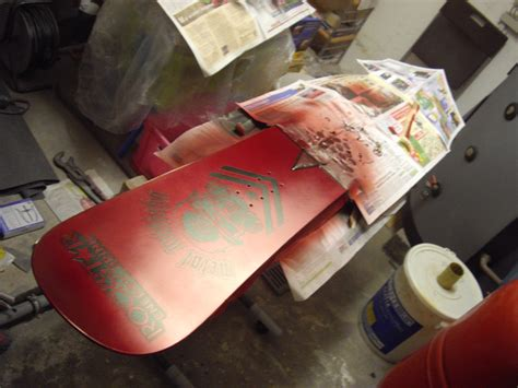 Lackieren Nebelgang by Das Rockstar Metal Mulisha Snowboard 171 Darkside Projects