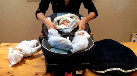 infant snowsuits and car seats say quot no quot to snowsuits and bunting bags in the infant car