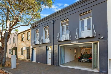 Garages With Apartments by Converted Warehouse Residence In Sydney Infused With Chic
