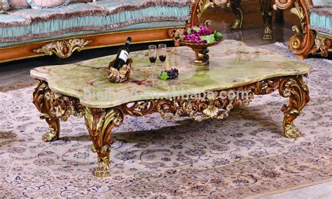 high end table l brands luxury wood carving coffee table with marble top