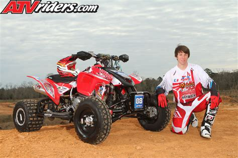 ama atv motocross schedule joel hetrick prepares for 2013 ama atv motocross season