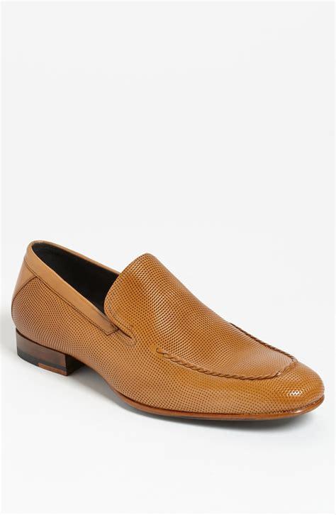 mezlan loafers mezlan lauro loafer in beige for camel lyst