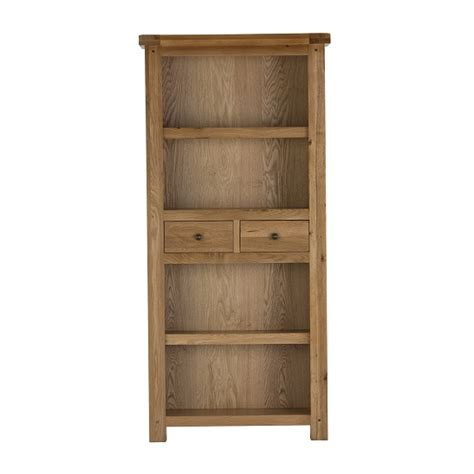 White Bookcase With Drawers Edinburgh Bookcase In White Oak With 2 Drawers 27813