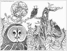 owl coloring pages for adults icolor quot owls quot on owl coloring pages owl and