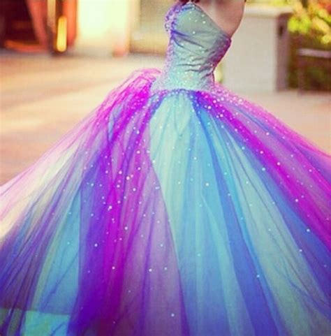 light blue and purple dress a pretty light blue pink and purple prom dress