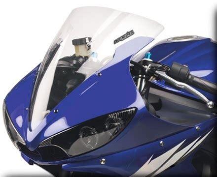 Headlight R6 03 05 R6s 06 09 hotbodies yamaha yzf r6 03 05 r6s 06 09 gp windscreen dual radius clear