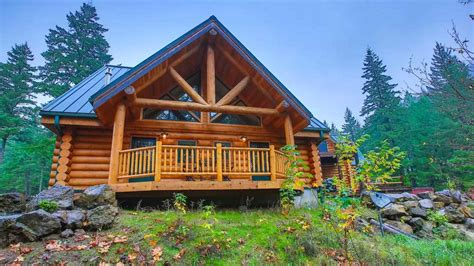 Usa Cabin by 8 Log Cabins Worth An Air Ticket Cond 233 Nast Traveller