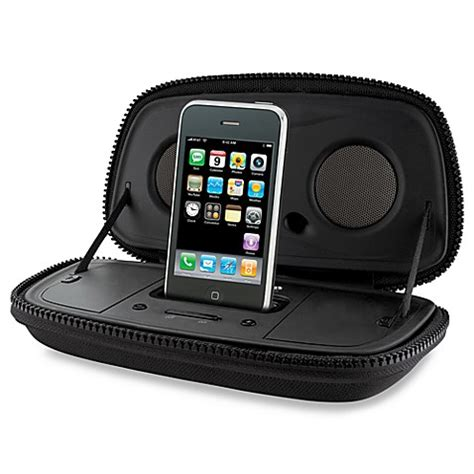 Isoundspa Speaker System For Ipods Is Also A Soothing Sound Station by Ihome 174 Portable Speaker System For Iphone 174 Ipod 174 Bed
