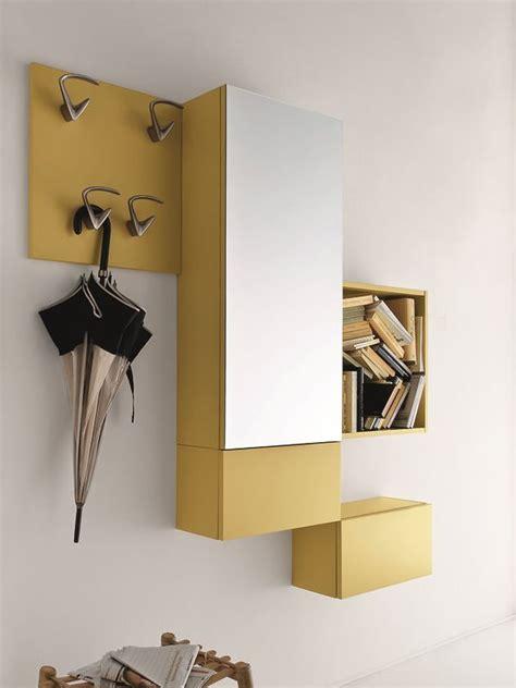 mobili da ingresso calligaris cinquanta 2 mobile ingresso con specchio e appendini