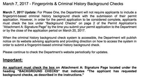Pa State Criminal Record Check Application Pa Marijuana Background And Fingerprinting Checks