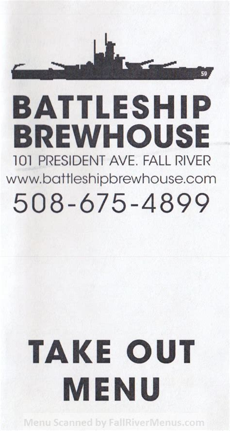 Fall River House Of Pizza by Battleship Brewhouse Fall River Restaurants