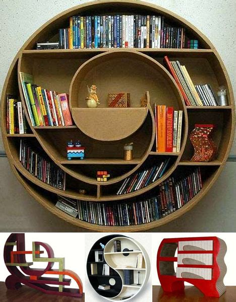 26 of the most creative bookshelves designs bookshelf