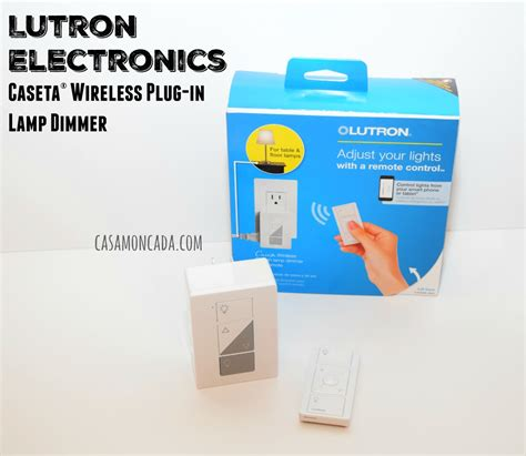plug in l dimmer lutron electronics cas 233 ta 174 wireless plug in l dimmer
