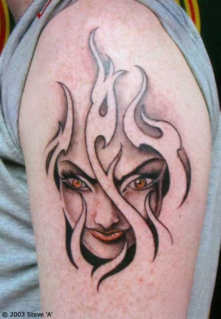 10 Cool Flame Tattoos With Flames Tattoos
