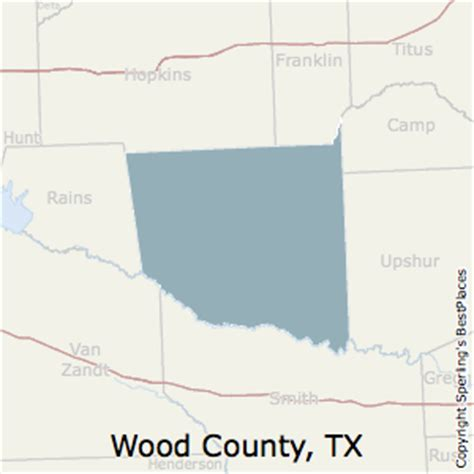 wood county texas map best places to live in wood county texas