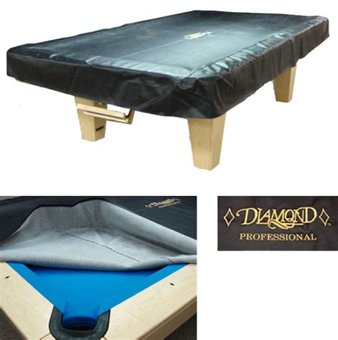Pool Table Cover Leather Black Pool Tables