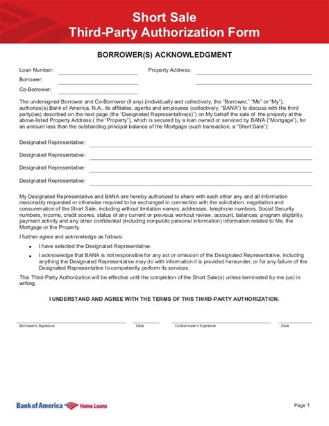 authorization letter to deposit third boa authorization www kjhomefinder